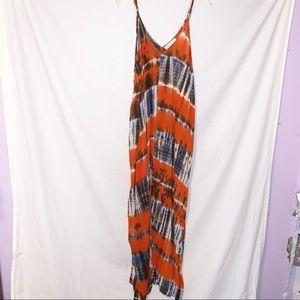 Lovestitch M/L Maxi Tie Dye Dress